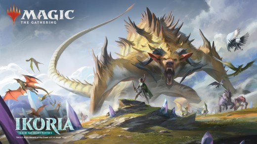 Ikoria: Lair of Behemoths Key Art