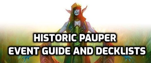 Historic Pauper Event Guide and Decklists