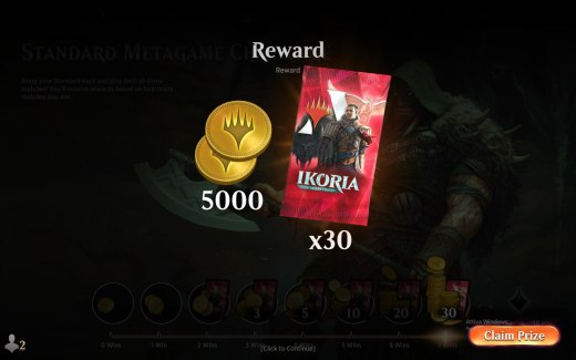 Standard Metagame Challenge 7 Win Deck