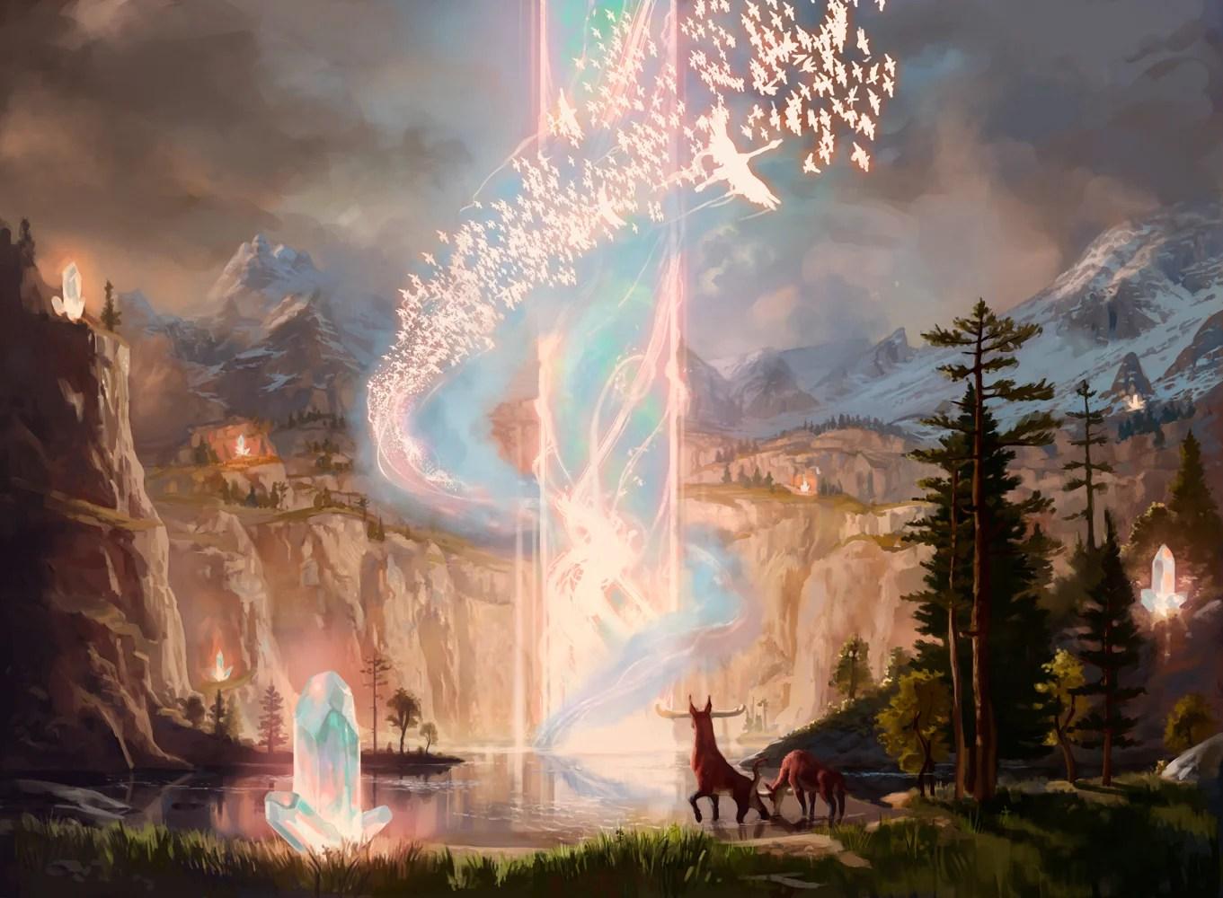 Genesis-Ultimatum-Ikoria-MtG-Art
