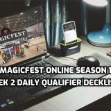MagicFest Online Season 1 Week 2 Daily Qualifier Decklists