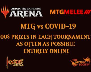 The Mythic Society MTG vs COVID-19