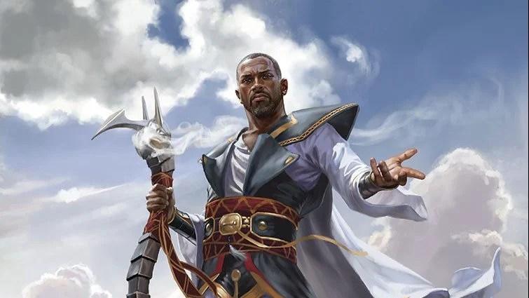 Teferi, Hero of Dominaria Art by Chris Rallis