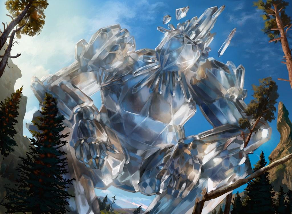 Crystalline Giant Art by Jason Rainville
