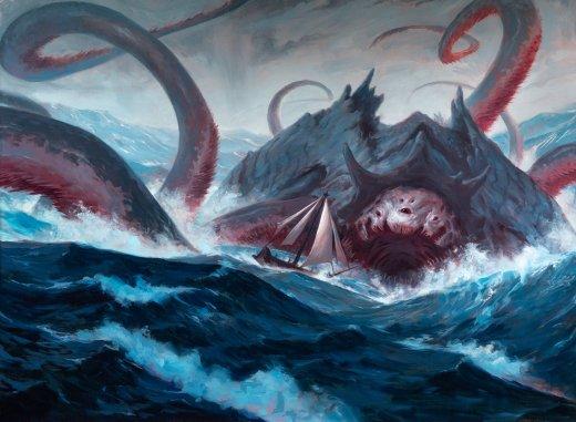 Gyruda-Doom-of-Depths-Ikoria-MtG-Art