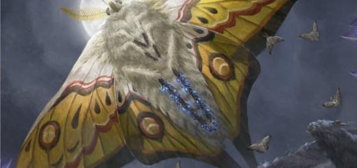 Luminous Broodmoth Art by Lie Setiawan