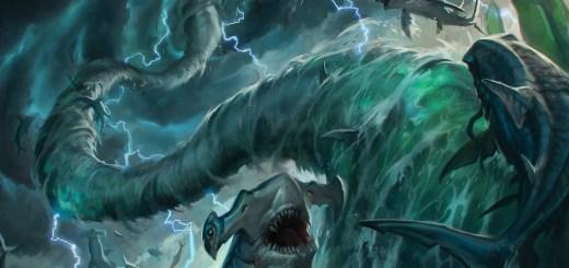 Shark Typhoon Art by Caio Monteiro