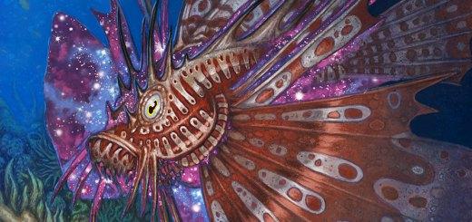 Stinging-Lionfish-Theros-Beyond-Death-Art