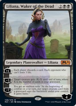 Liliana, Waker of the Dead Spoiler