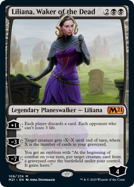 Liliana, Waker of the Dead