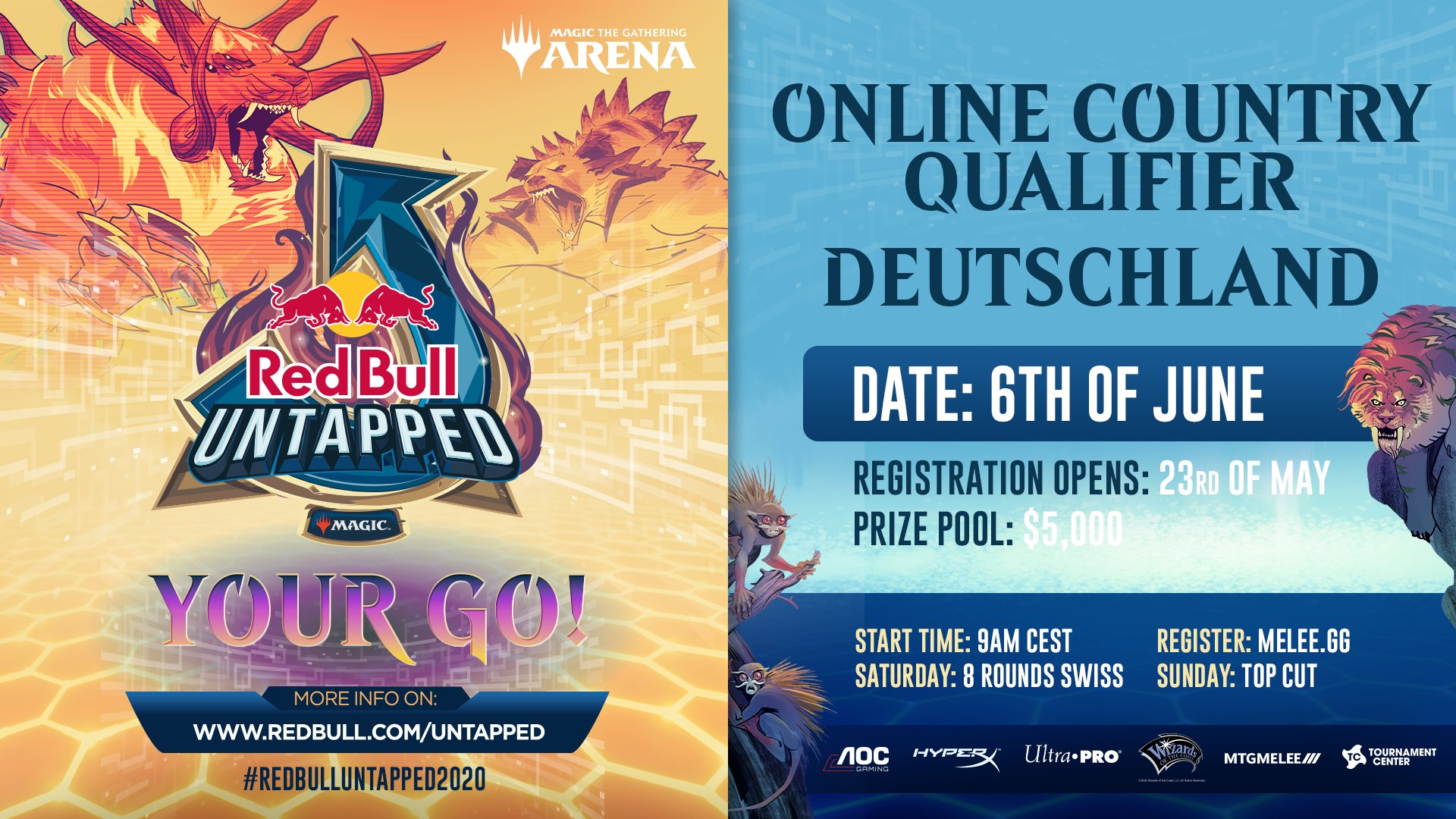 Red Bull Untapped Online Qualifier Germany