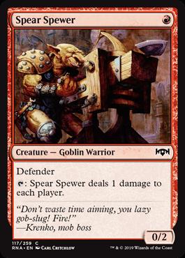 Spear Spewer