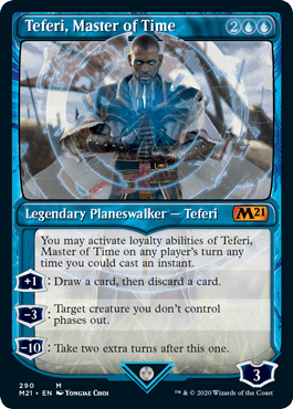 Teferi, Master of Time Card Style 1