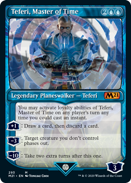 Teferi, Master of Time Card Style 4