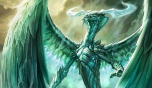 Ugin the Spirit Dragon Art