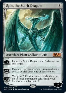Ugin, the Spirit Dragon Spoiler