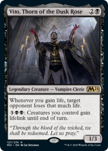 Vito, Thorn of the Dusk Rose