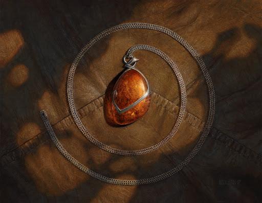 Mox Amber Art by Steven Belledin
