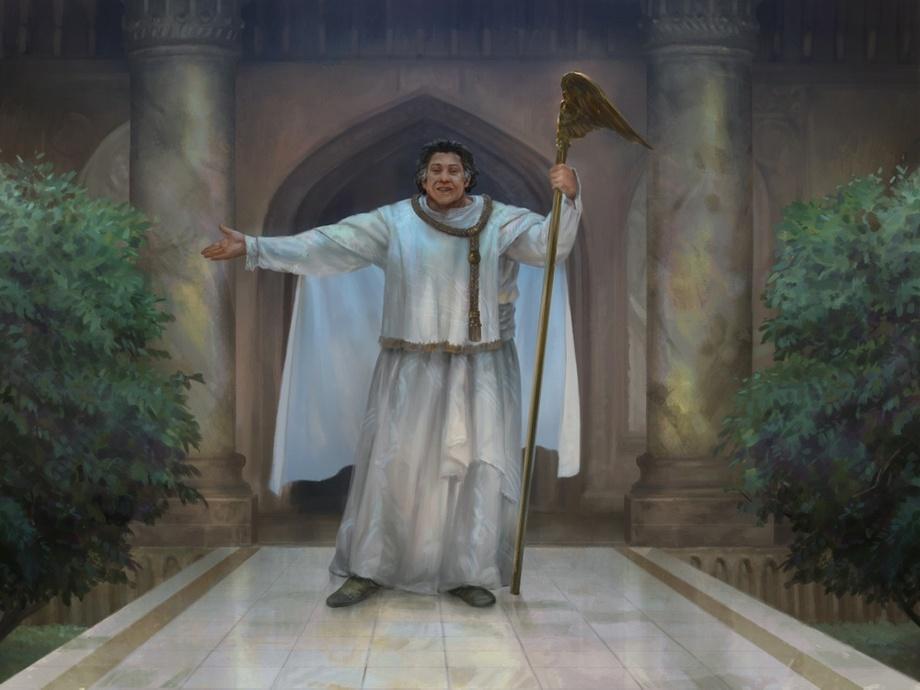 Speaker of the Heavens Art