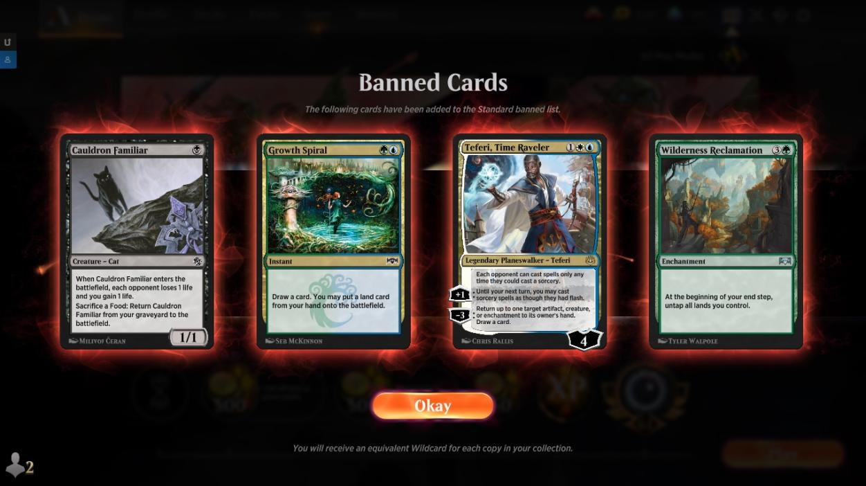 August 3 2020 Standard Bans 12 Deck Archetypes To Prepare For The Post Ban Metagame Mtg Arena Zone