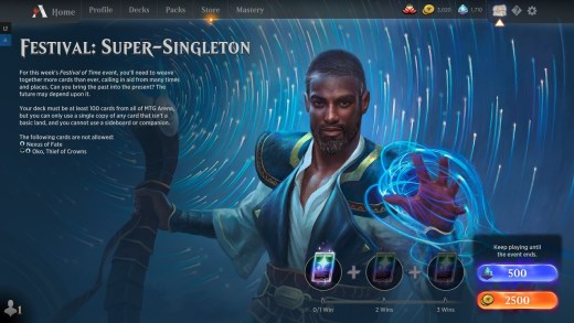 Festival: Super-Singleton