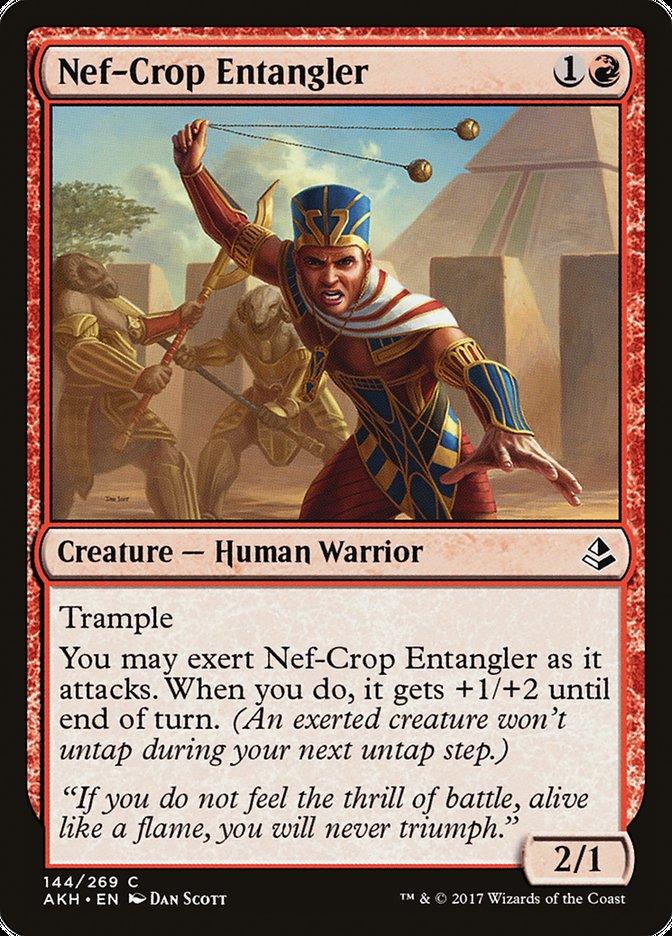 Nef-Crop Entangler