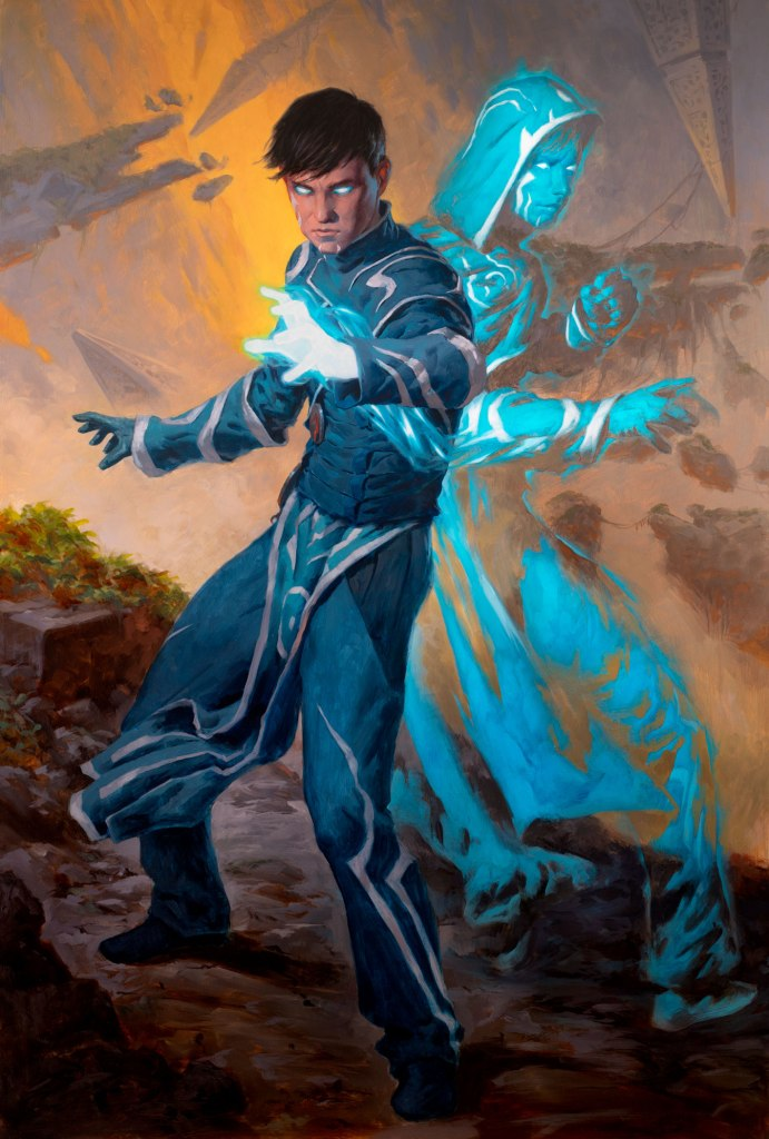 Jace, Mirror Mage Art by Tyler Jacobson