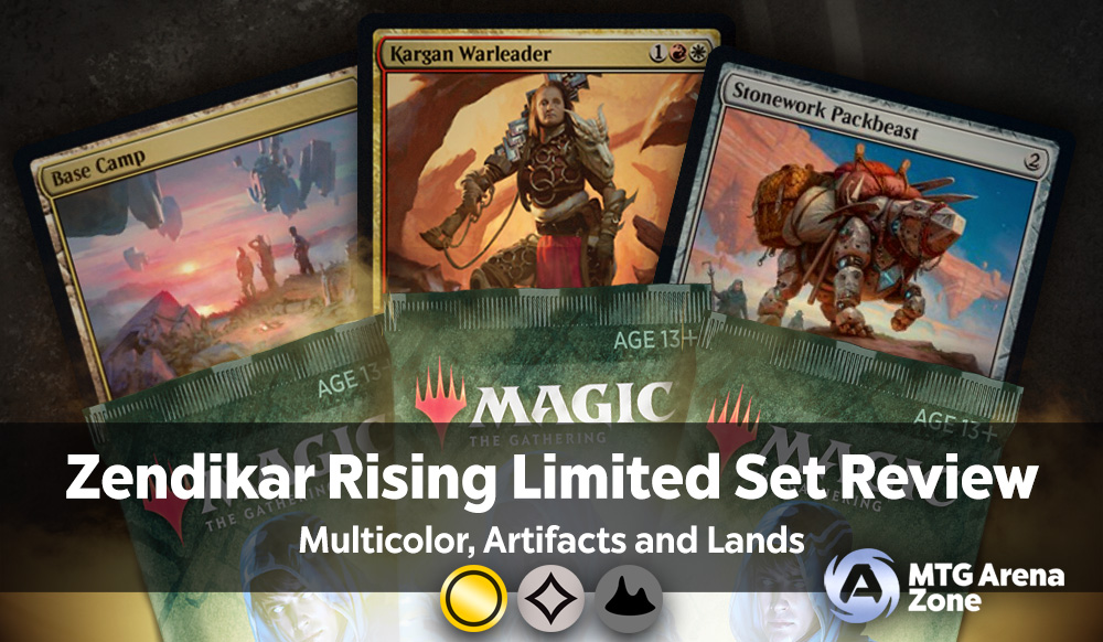 Zendikar Rising Limited Set Review Multicolor Artifacts And Lands Mtg Arena Zone Including extended art and base prices. zendikar rising limited set review