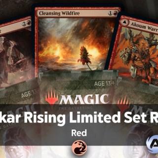 Zendikar Rising Limited Set Review Red