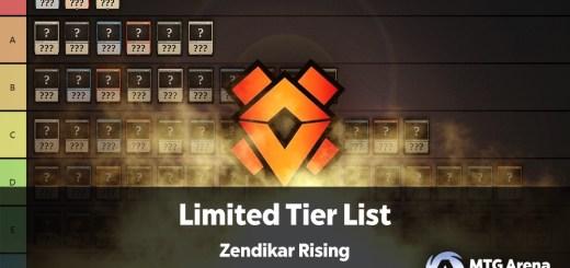 Zendikar Rising Limited Tier List