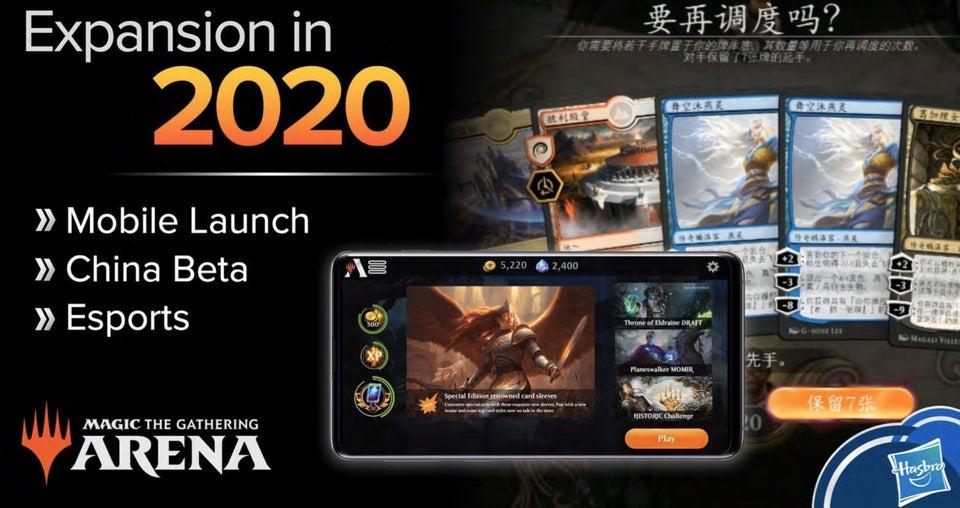 MTG Arena Mobile Announcement