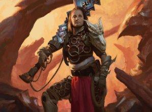 Kargan Warleader Art by Colin Boyer
