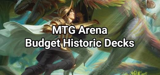 MTG Arena Budget Historic Decks