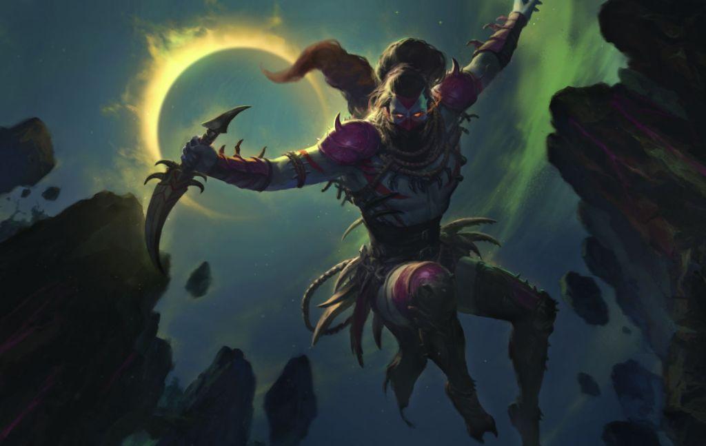 Nighthawk-Scavenger-Zendikar-Rising-MtG-Art