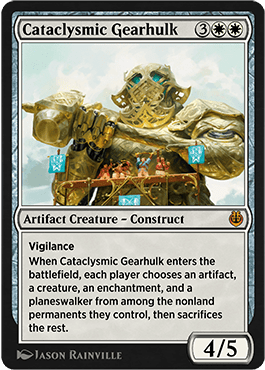 Cataclysmic Gearhulk Inventions