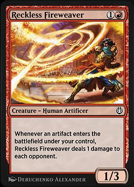 Reckless Fireweaver