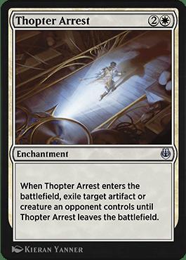 Thopter Arrest