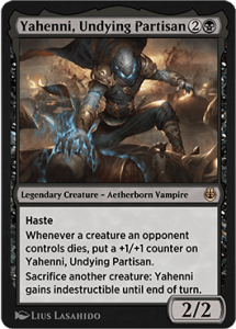 Yahenni, Undying Partisan