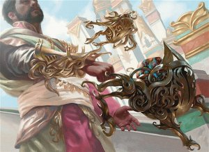 Historic Mono White Tempered Steel - Kaladesh Remastered
