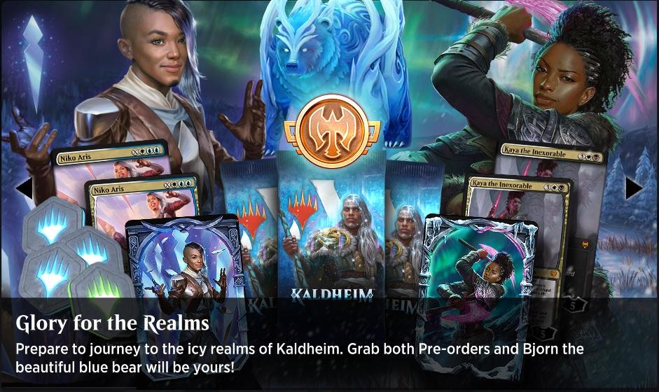 Kaldheim Preorder Bundles - Glory for the Realms