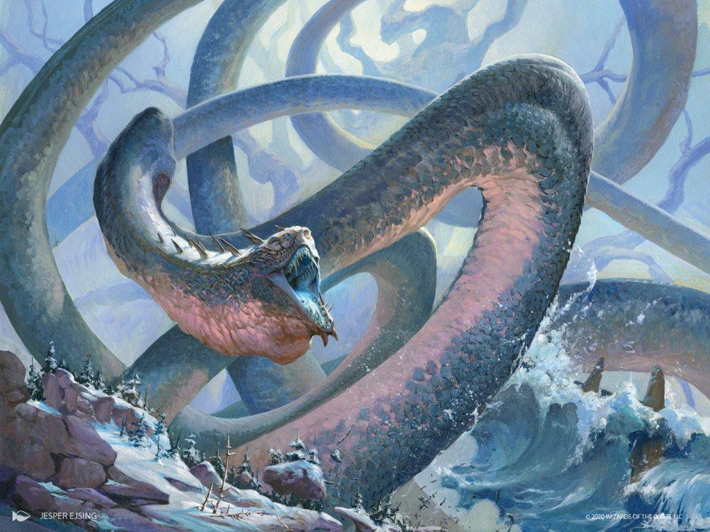 Koma, Cosmos Serpent Art by Jesper Ejsing