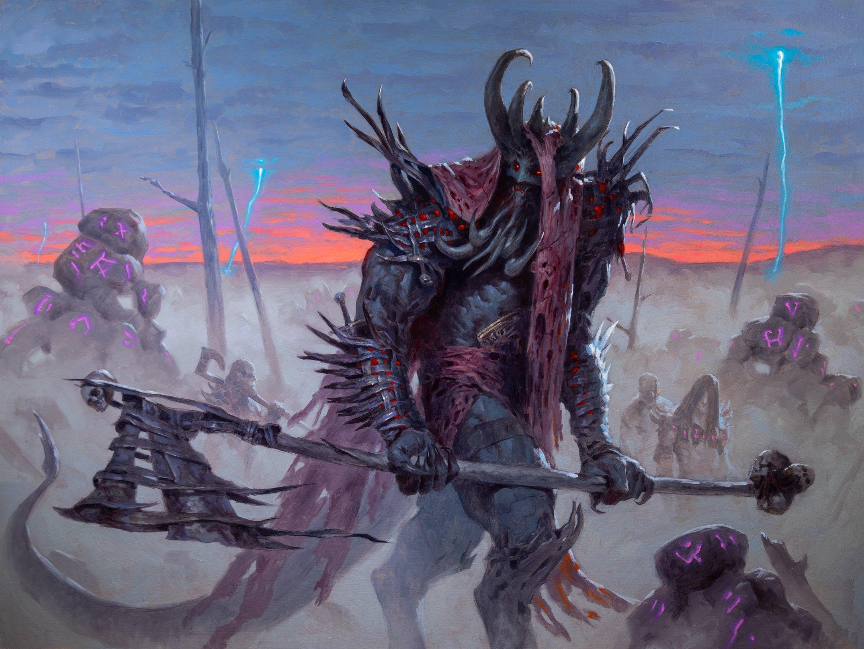 Varragoth, Bloodsky Sire Art by Tyler Jacobson