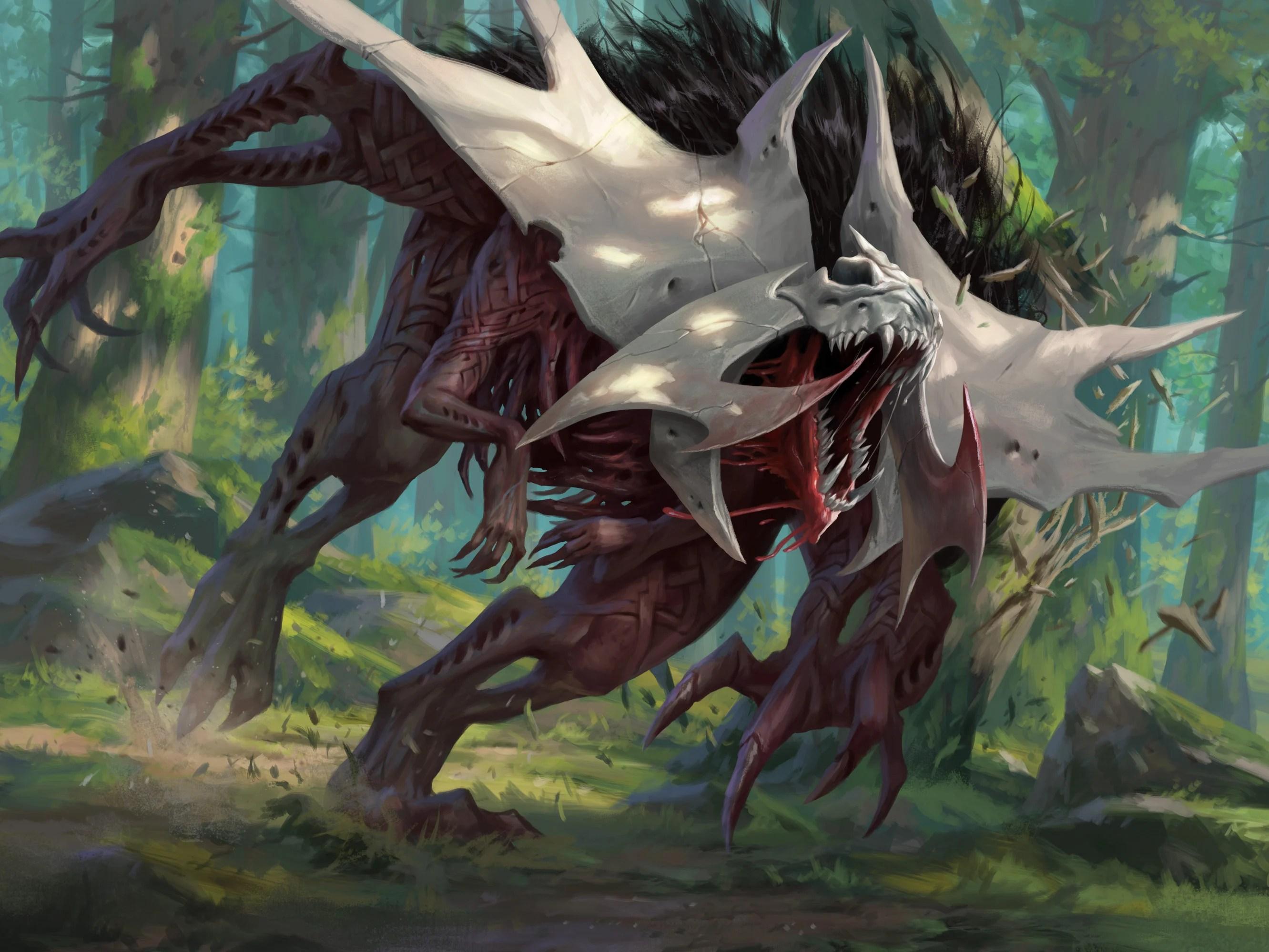 Vorinclex, Monstrous Raider Art by Daarken