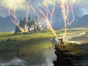Wizards-Lighting-Dominaria-MtG-Art