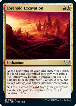 200 Lorehold Excavation Strixhaven Spoiler Card