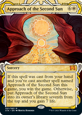 001 Approach of the Second Sun Mystical Archives Spoiler Card