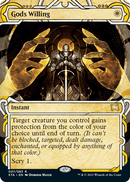007 Gods Willing Mystical Archives Spoiler Card