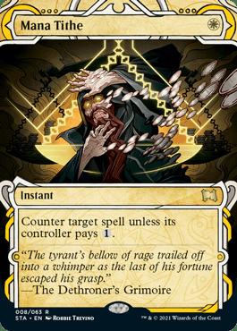 008 Mana Tithe Mystical Archives Spoiler Card