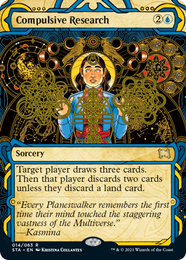 014 Compulsive Research Mystical Archives Spoiler Card