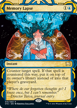 016 Memory Lapse Mystical Archives Spoiler Card